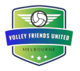 Volleyball Friends United Logo